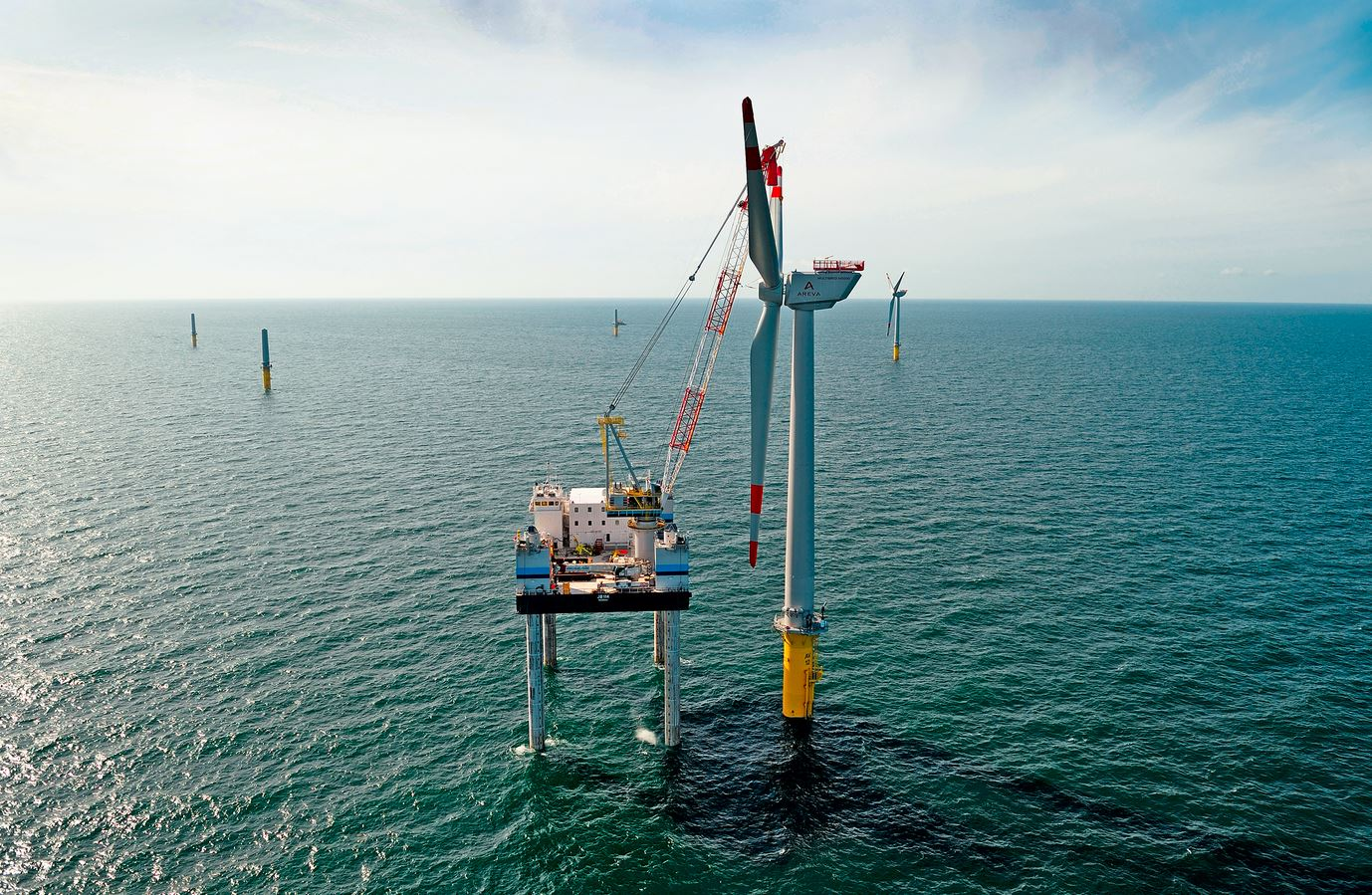 Offshore wind power expansion in Germany overtakes onshore for first time in 2019