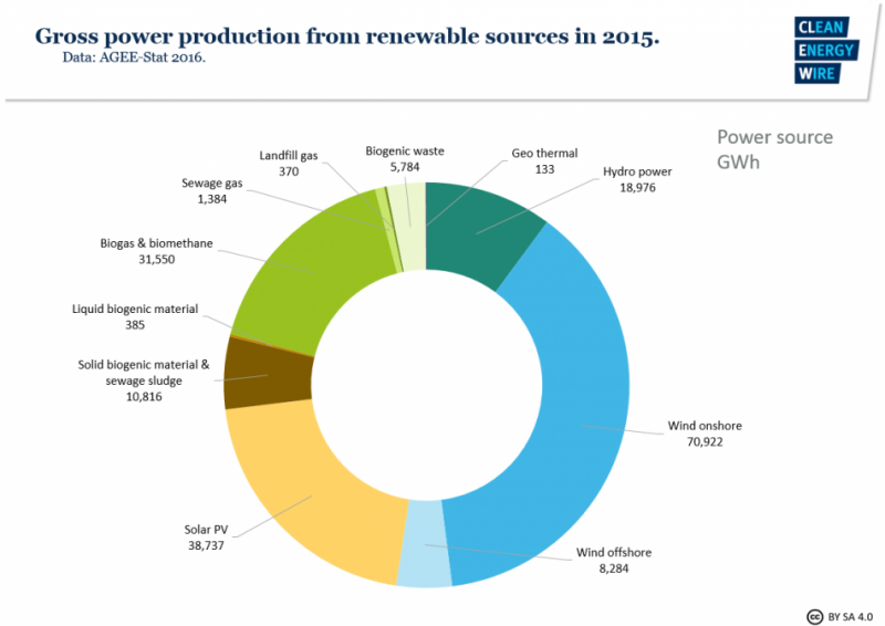 Bioenergy in Germany – facts and figures on development