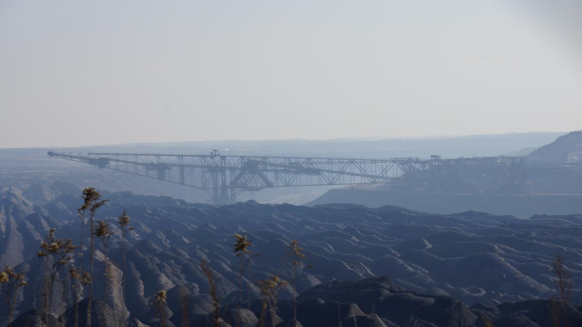LEAG open pit lignite mine Welzow-Süd in Lusatia. Source - CLEW 2016.LEAG open pit lignite mine Welzow-Süd in Lusatia. Source - CLEW 2016.