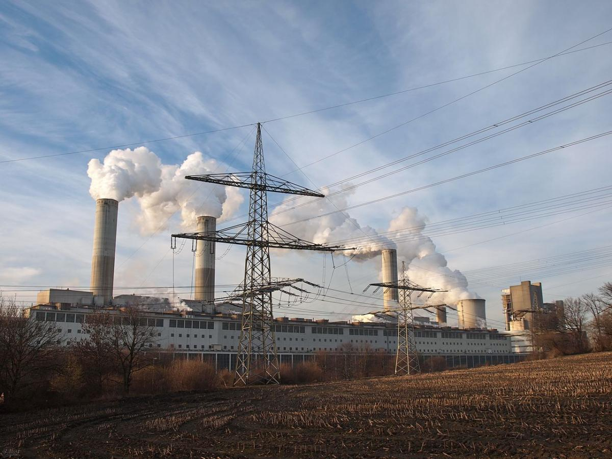RWE coal plant Frimmersdorf in North Rhine-Westphalia. Photo: Stodtmeister