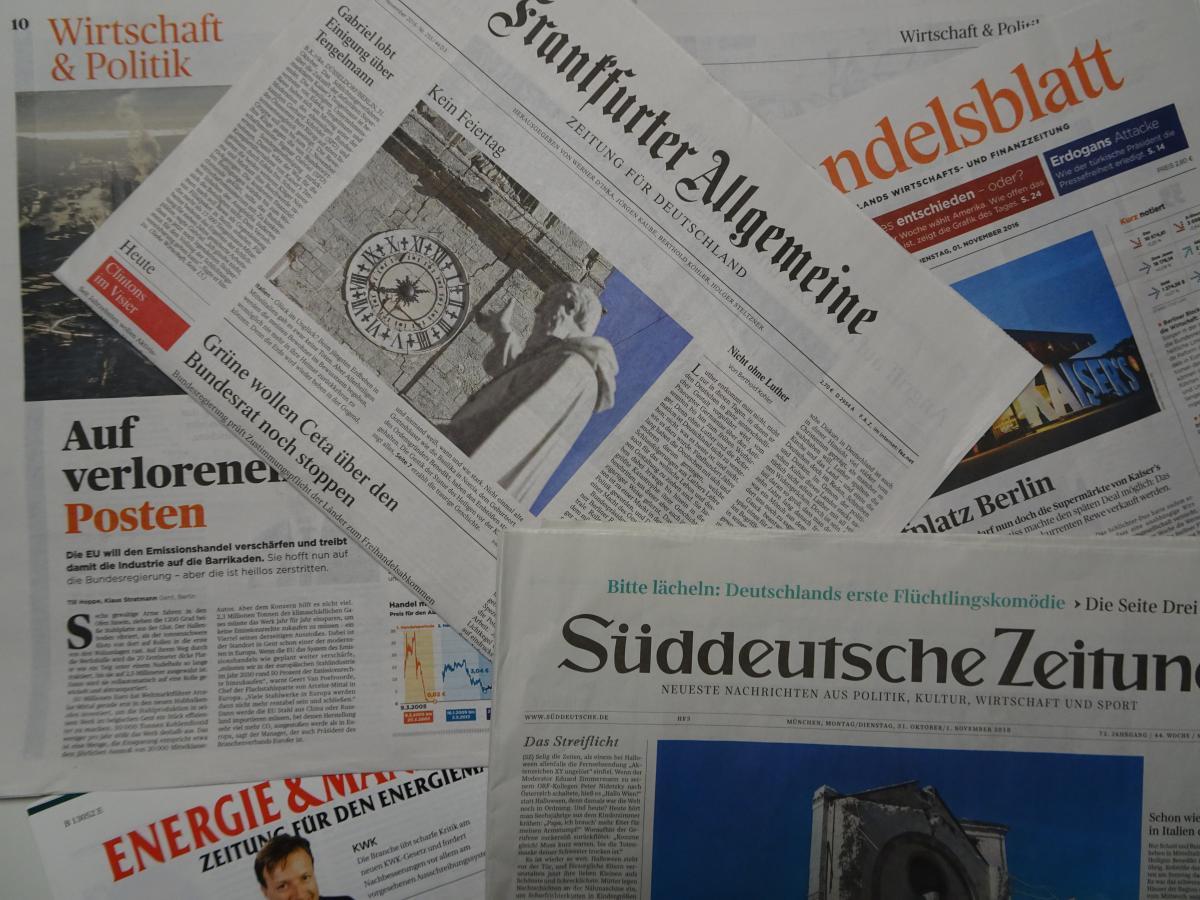"German energy use stable / Energiewende\'s ""sobering results ..."