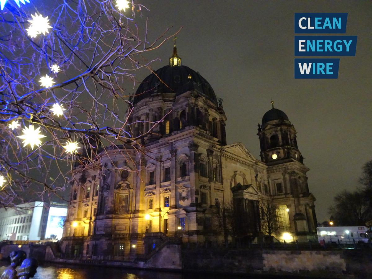 Berlin Cathedral Church (Berliner Dom) - view from the CLEW offices.