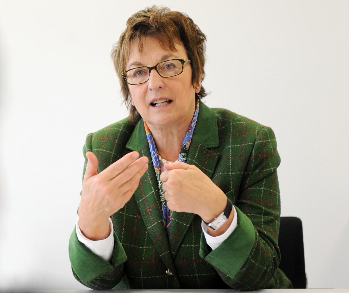 Brigitte Zypries, Parliamentary State Secretary at the Federal Ministry for Economic Affairs and Energy . Source - Harry Soremski.