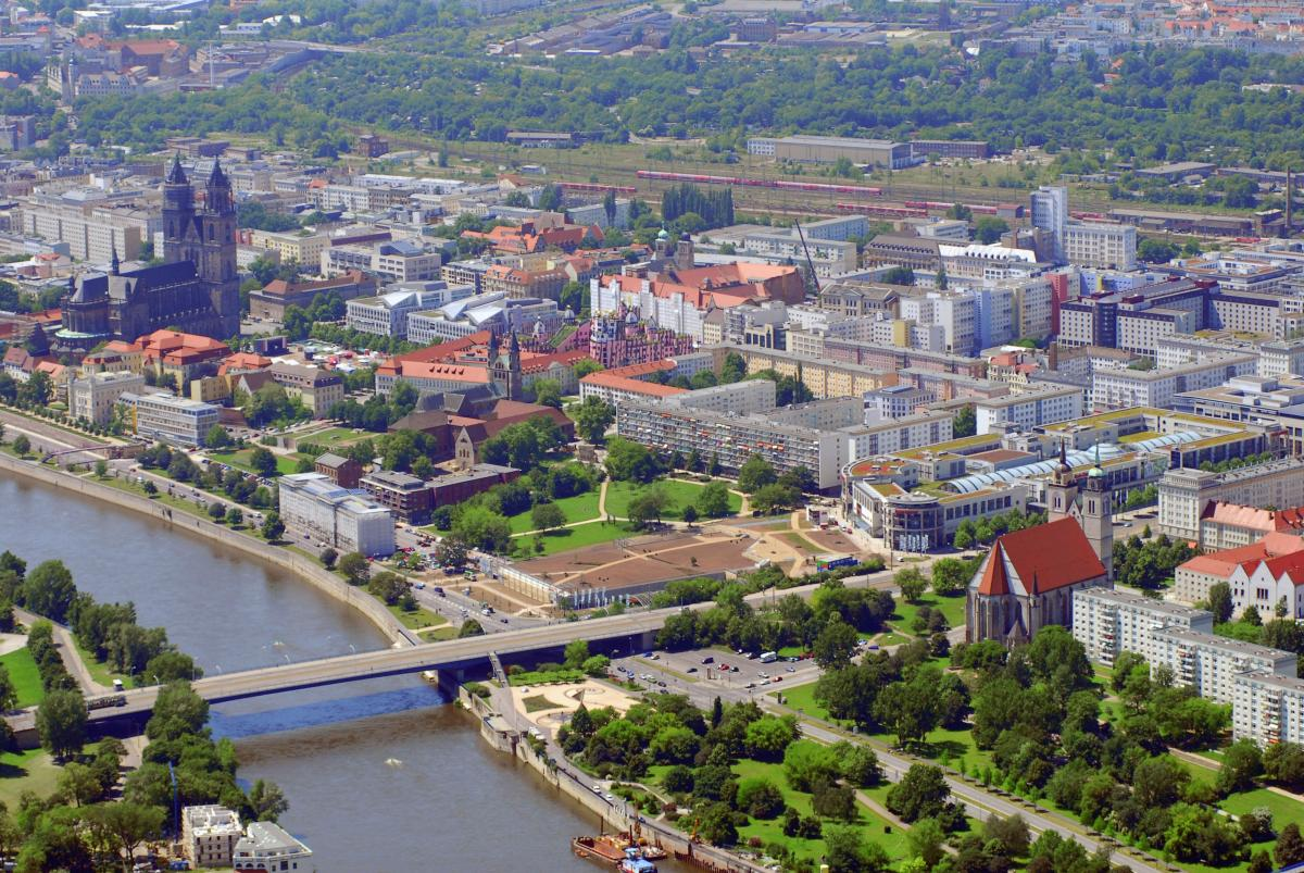 Magdeburg - Photo: Flickr/ Deutsche Euroshop AG