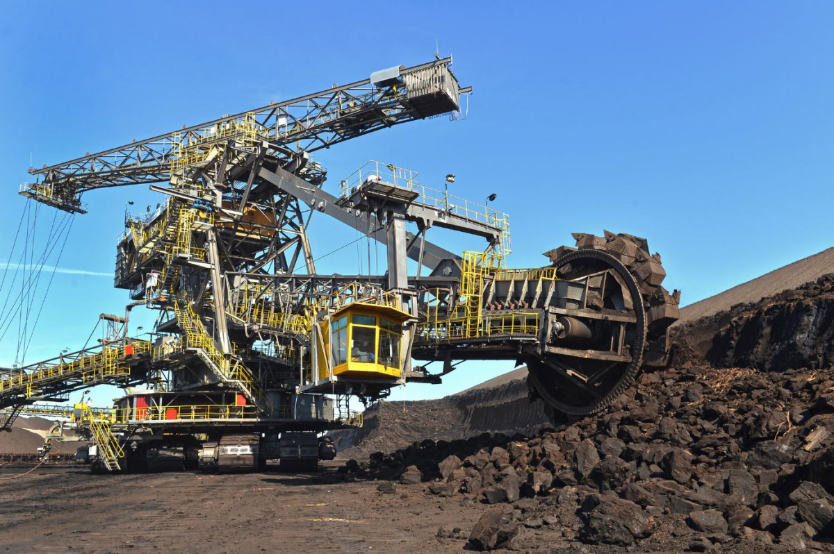 Lignite excavator of operator LEAG. Photo: LEAG/Christian Bedeschinsky