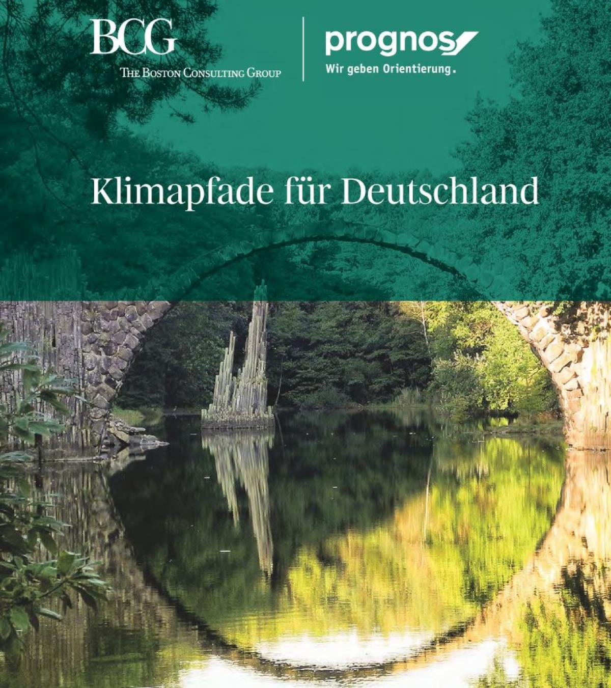 "The BDI study entitled ""Climate paths for Germany"""
