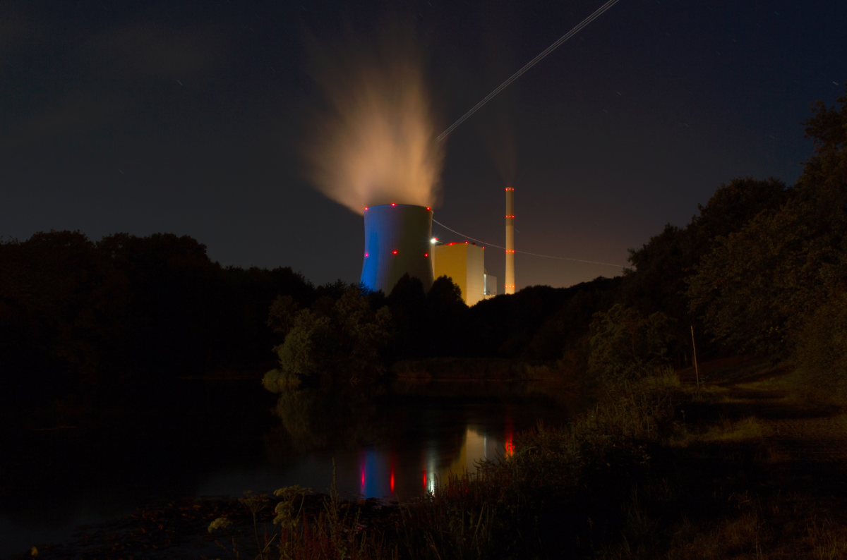 Bexbach Hard Coal Plant in the Saarland. Photo: Steag