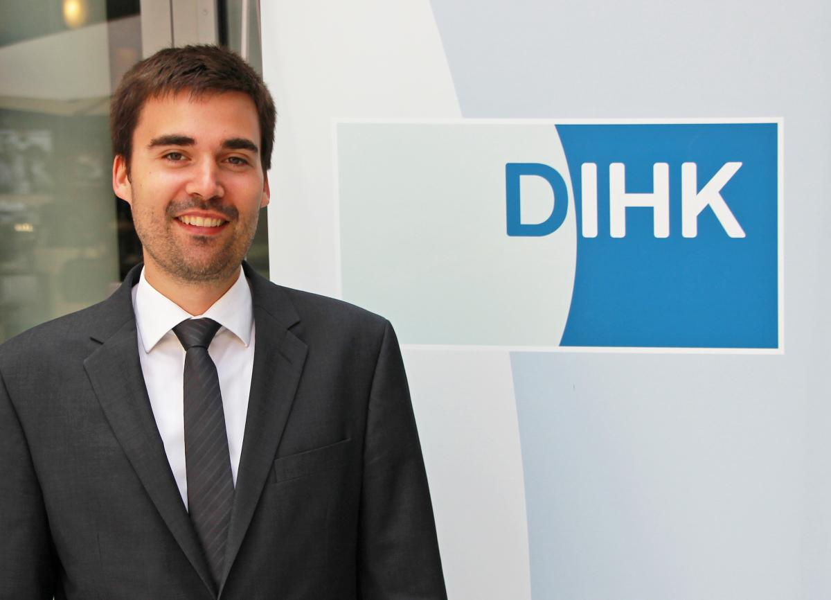 Sebastian Bolay, Coordinator for Energy Policy at DIHK. Photo: DIHK
