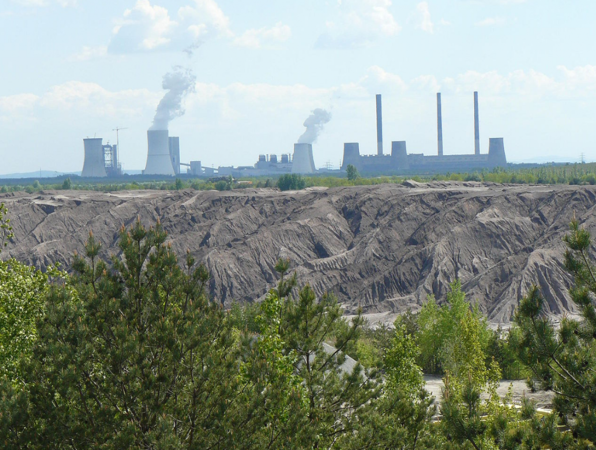 Lignite plant Boxberg in eastern Germany. Photo: LEAG