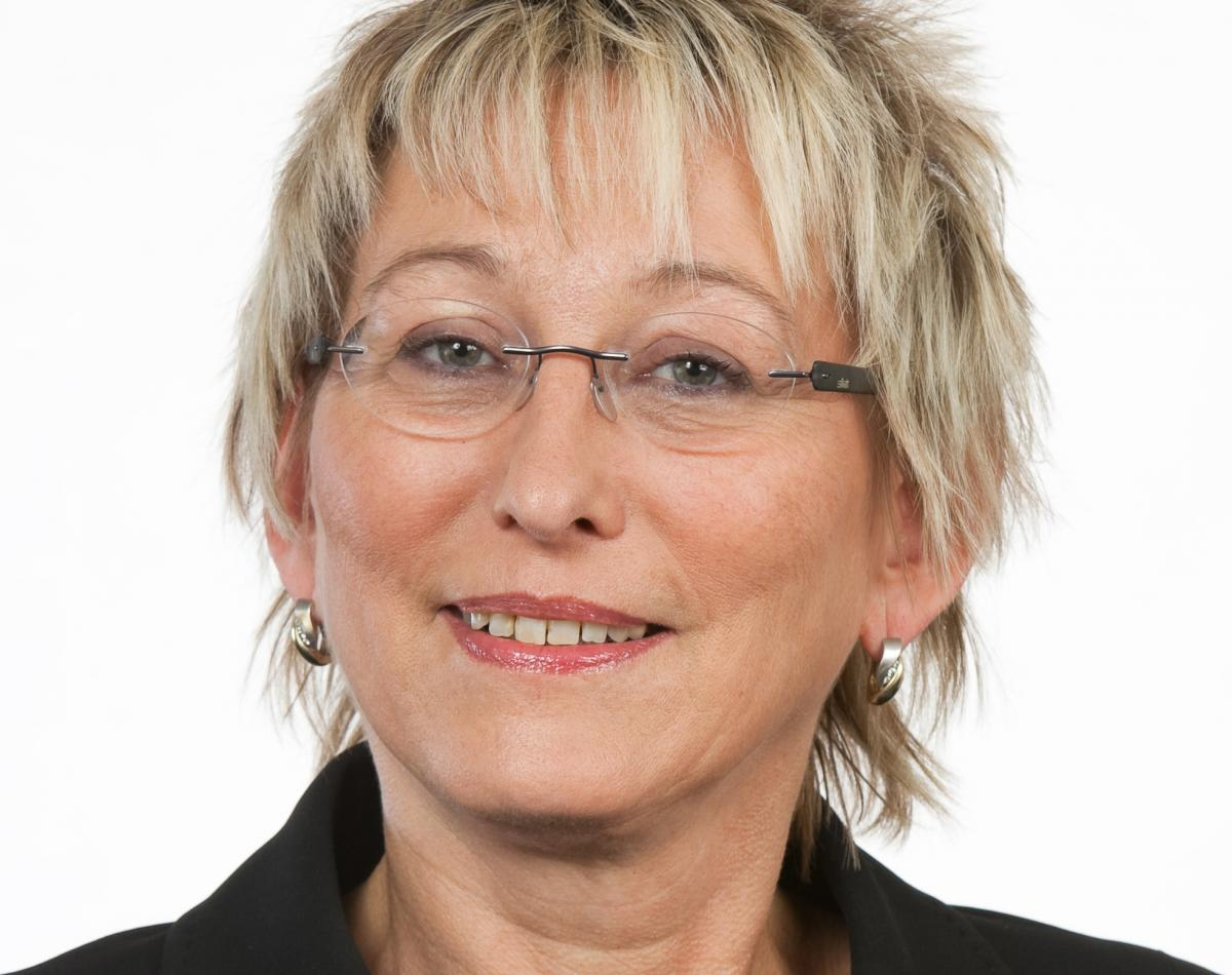 Eva Bulling-Schröter, Member of the German Bundestag and spokesperson for energy and climate policy for the Left Party's parliamentary group. Source - Office of Bulling-Schröter 2017.