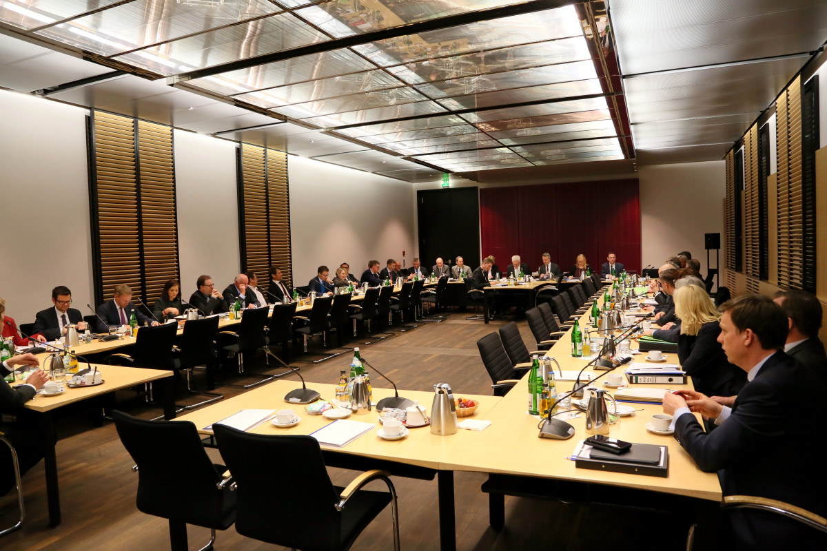 Photo shows German Mediation committee meeting in January 2019. Photo: Bundesrat/Frank Bräuer.