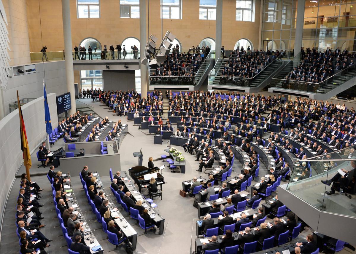 Germany's parliament, the Bundestag. Photo: Achim Melde / DBT