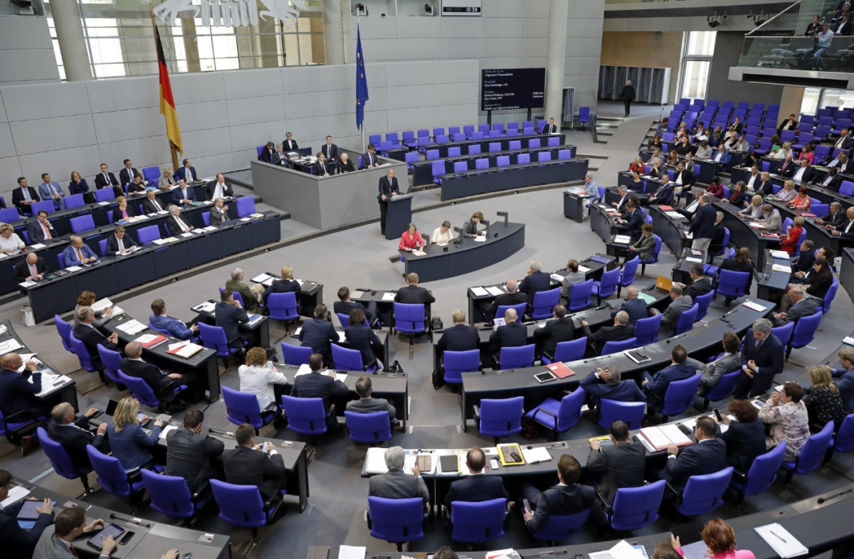 Parliament debated the climate package introduced the week before (stock picture). Photo: Deutscher Bundestag / thomas Köhler