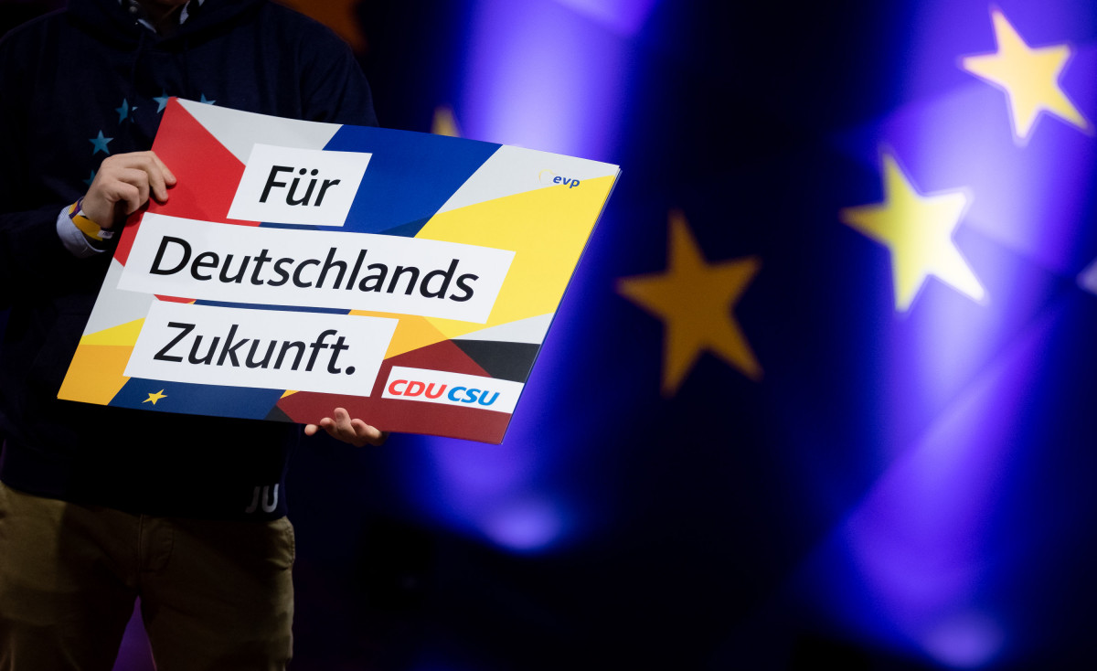"""""""For Germany's future"""" - the next CDU leader stands a good chance of becoming German Chancellor. Photo: CDU"""