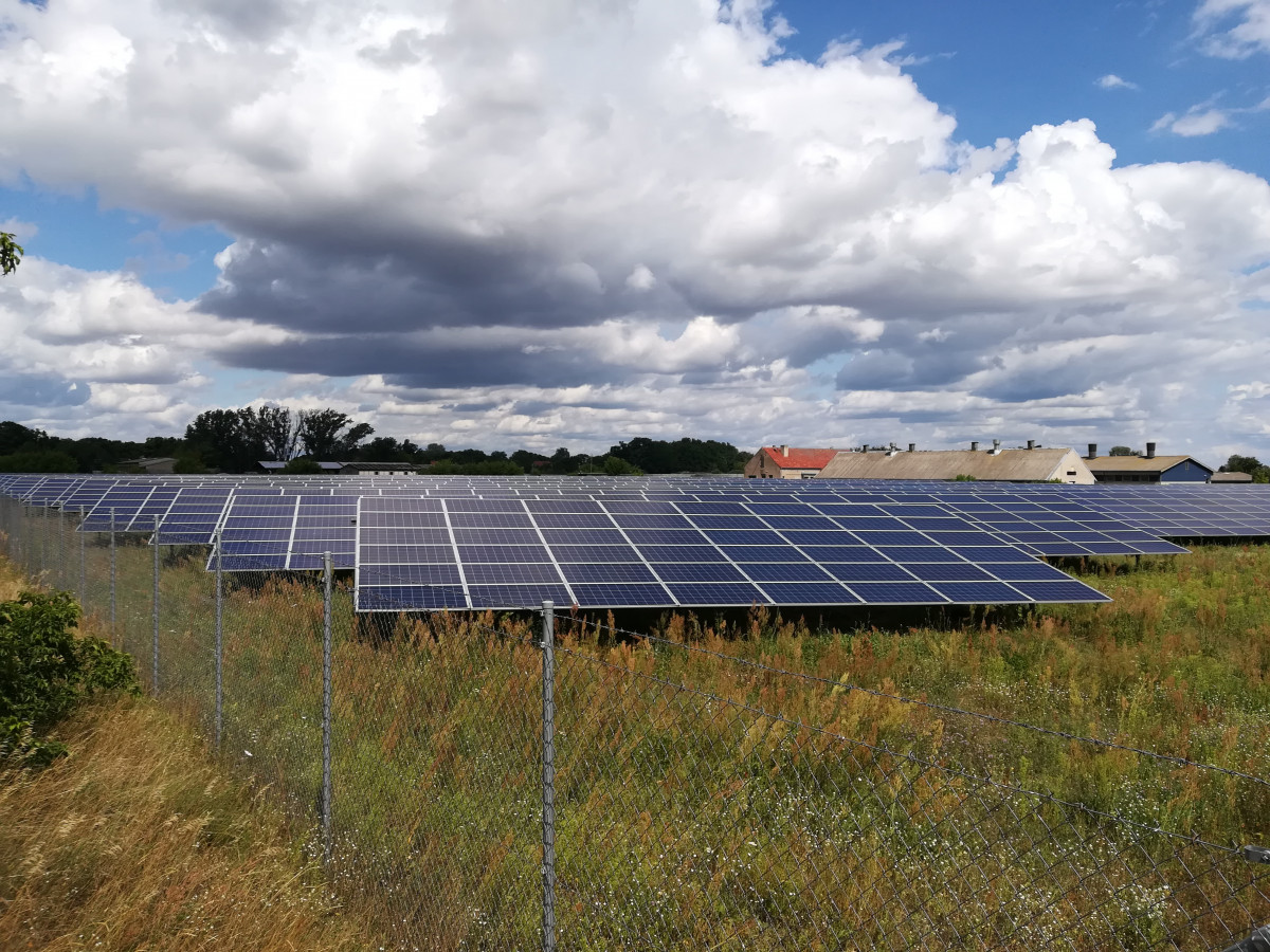 Photo shows a solar PV park in Brandenburg, Germany. Photo: CLEW/Wettengel.