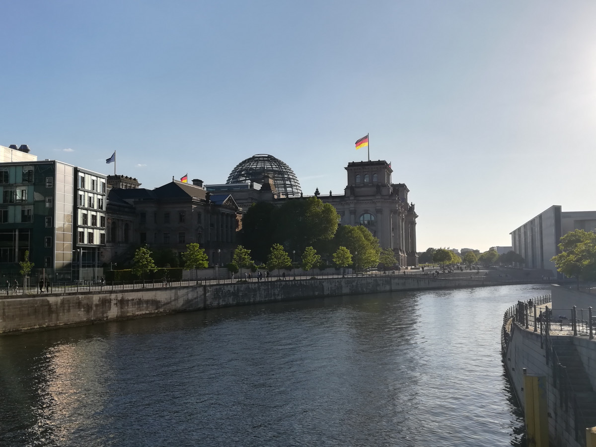 Germany's parliament, the Bundestag. Photo: CLEW / Julian Wettengel
