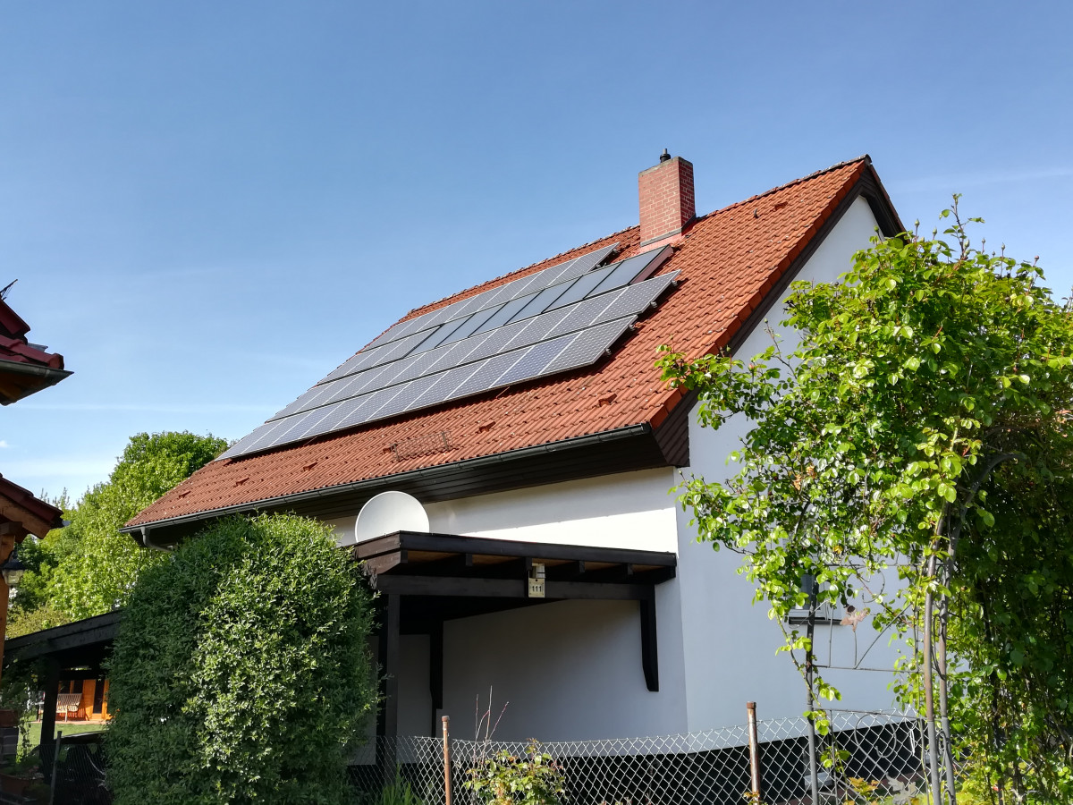 Solar panels on peoples' homes have firmly established renewable energy generation as a citizen project in Germany. Photo: CLEW.