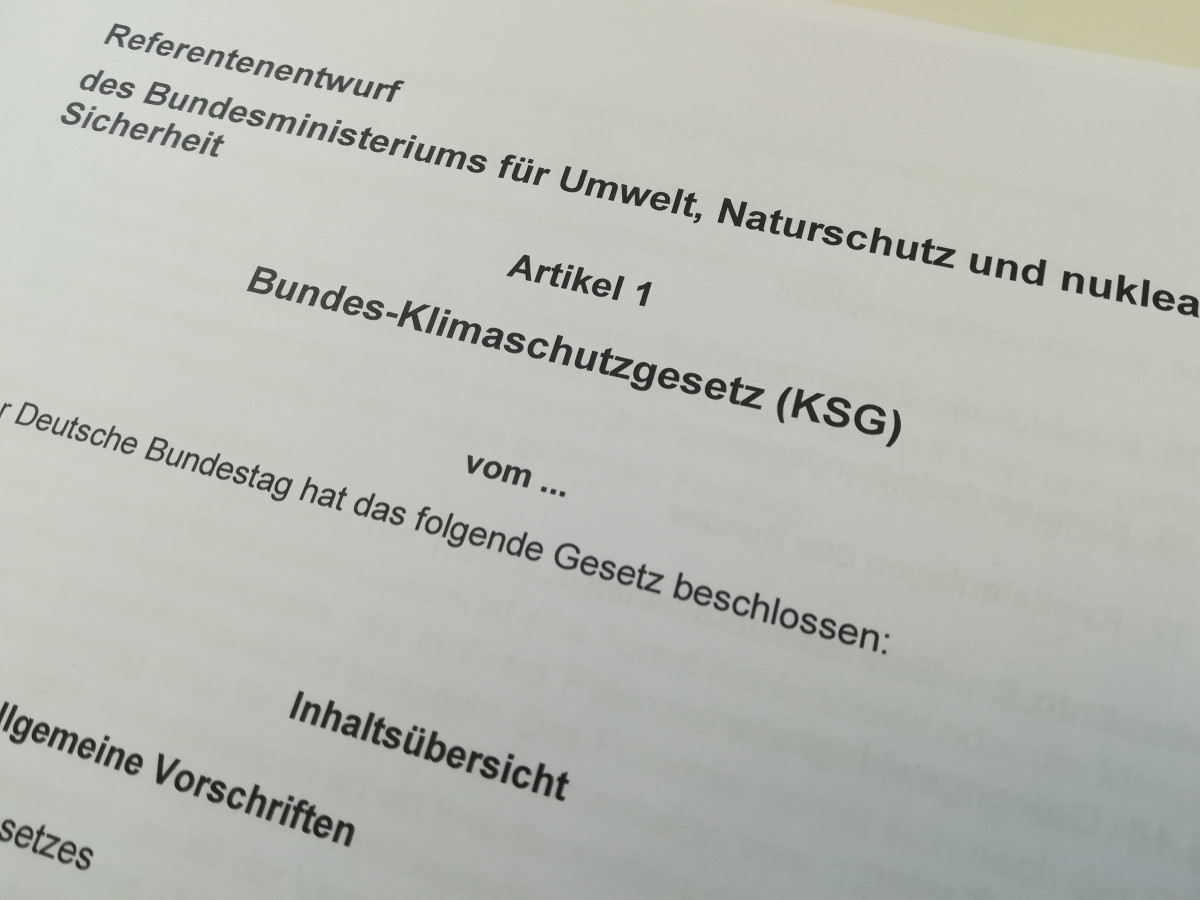 German environment minister Svenja Schulze has sent a first draft of the highly anticipated Climate Action Law to Chancellor Angela Merkel. Photo: CLEW 2019.
