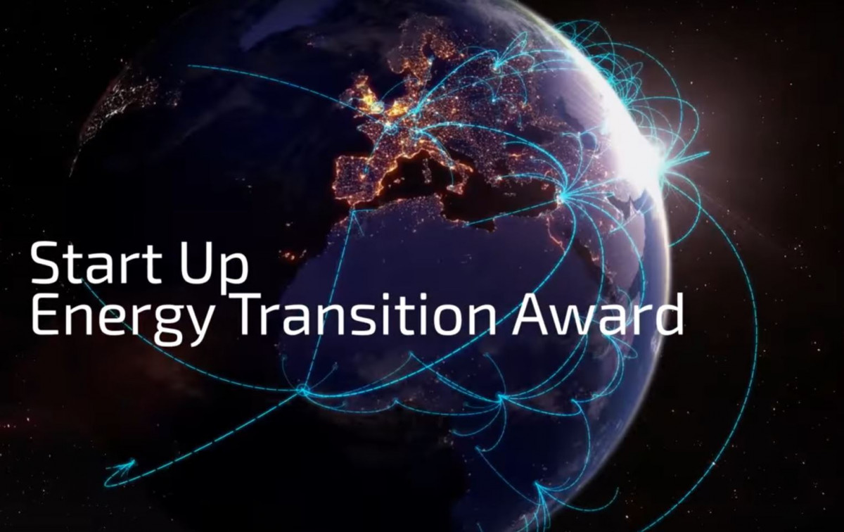Still from video advertising the German Energy Agency's (dena) start-up competition.