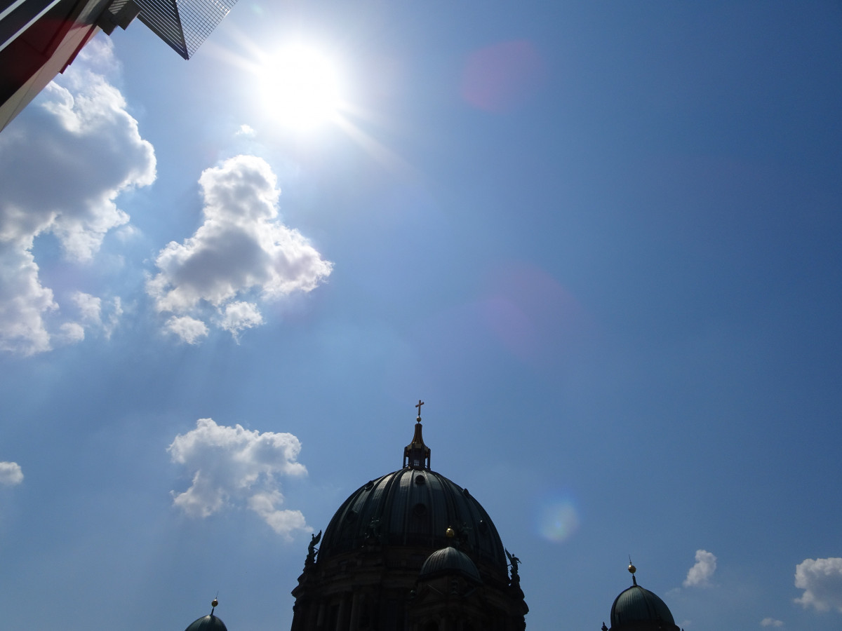 Sunshine over Berlin: Germany sees the second year of record summer temperatures in a row. Photo: CLEW