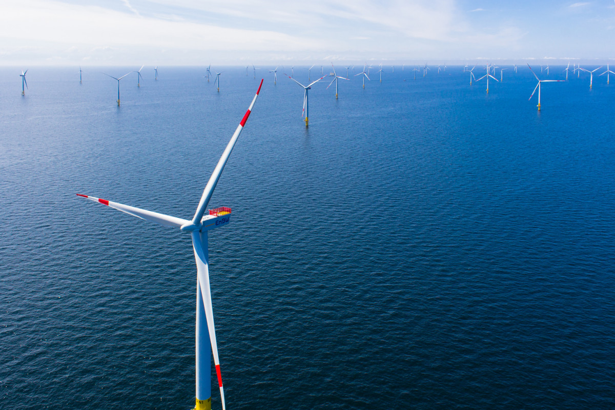 German companies already play an important role in the UK's offshore wind power boom. Photo: EnBW.