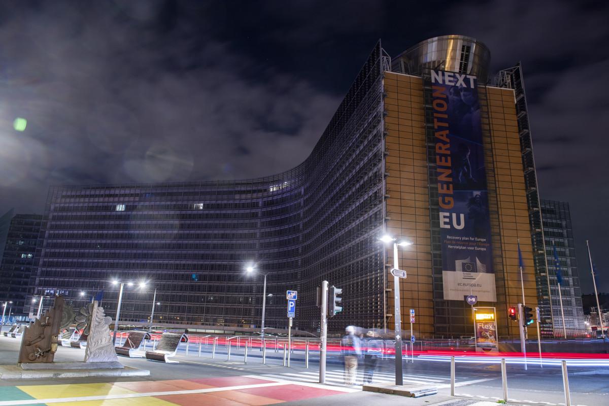 Photo shows EU Commission building berlaymont. Source: European Union.