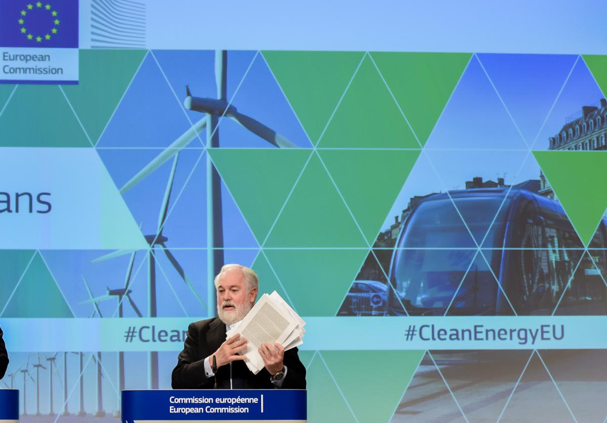 Miguel Arias Cañete, EU Commissioner for Climate Action and Energy