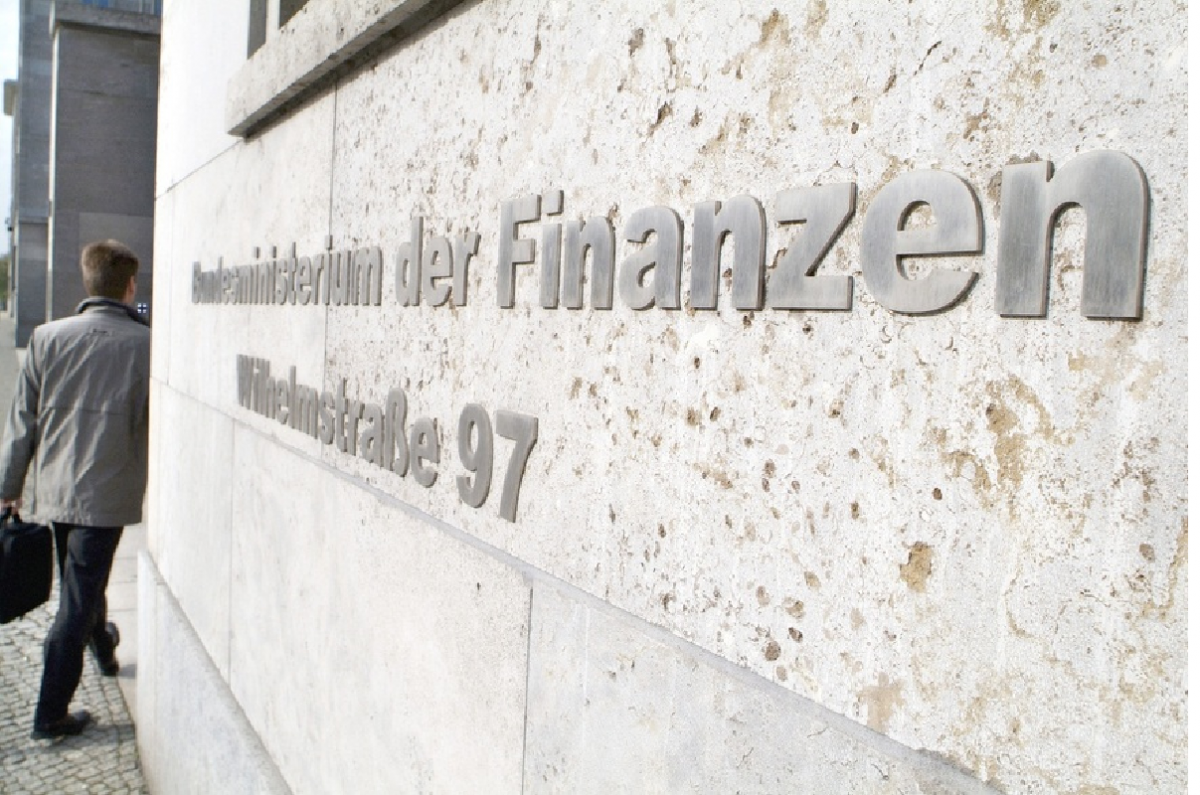 The entrance of Germany's finance ministry in Berlin. Photo: BMF / Hendel