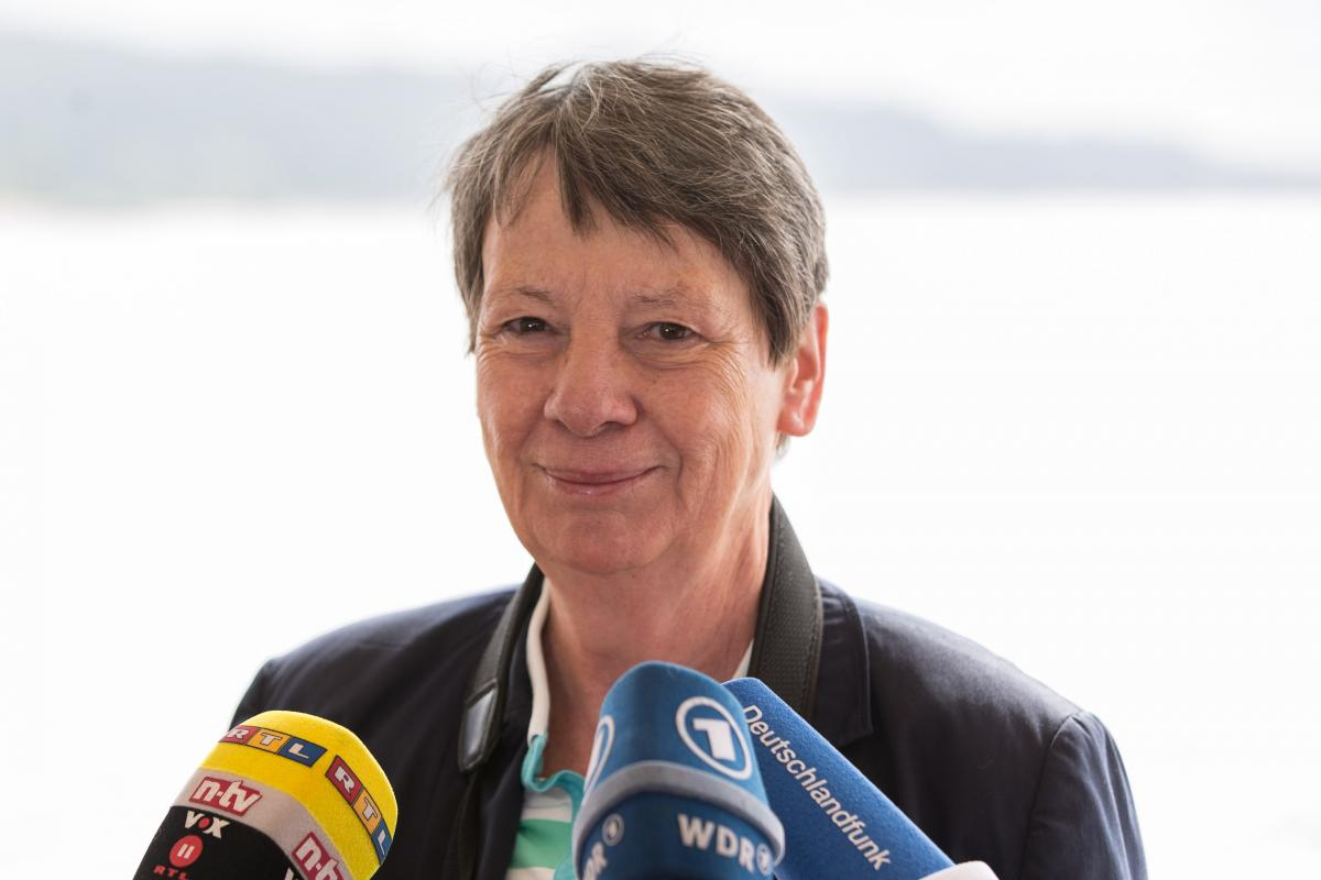 Barbara Hendricks has been heading Germany's environment ministry since 2013. Source:BMUB