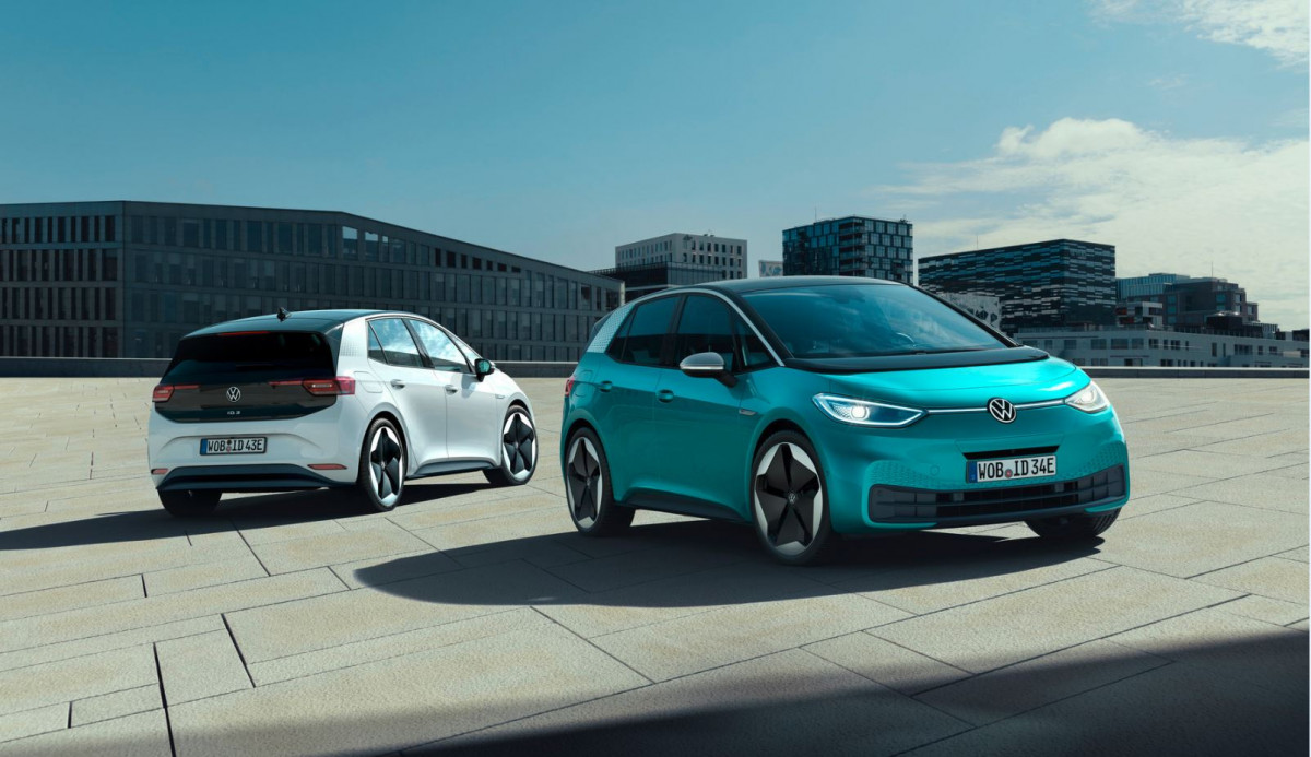 High hopes: VW aims for mass-market sales with the ID.3. Photo: VW