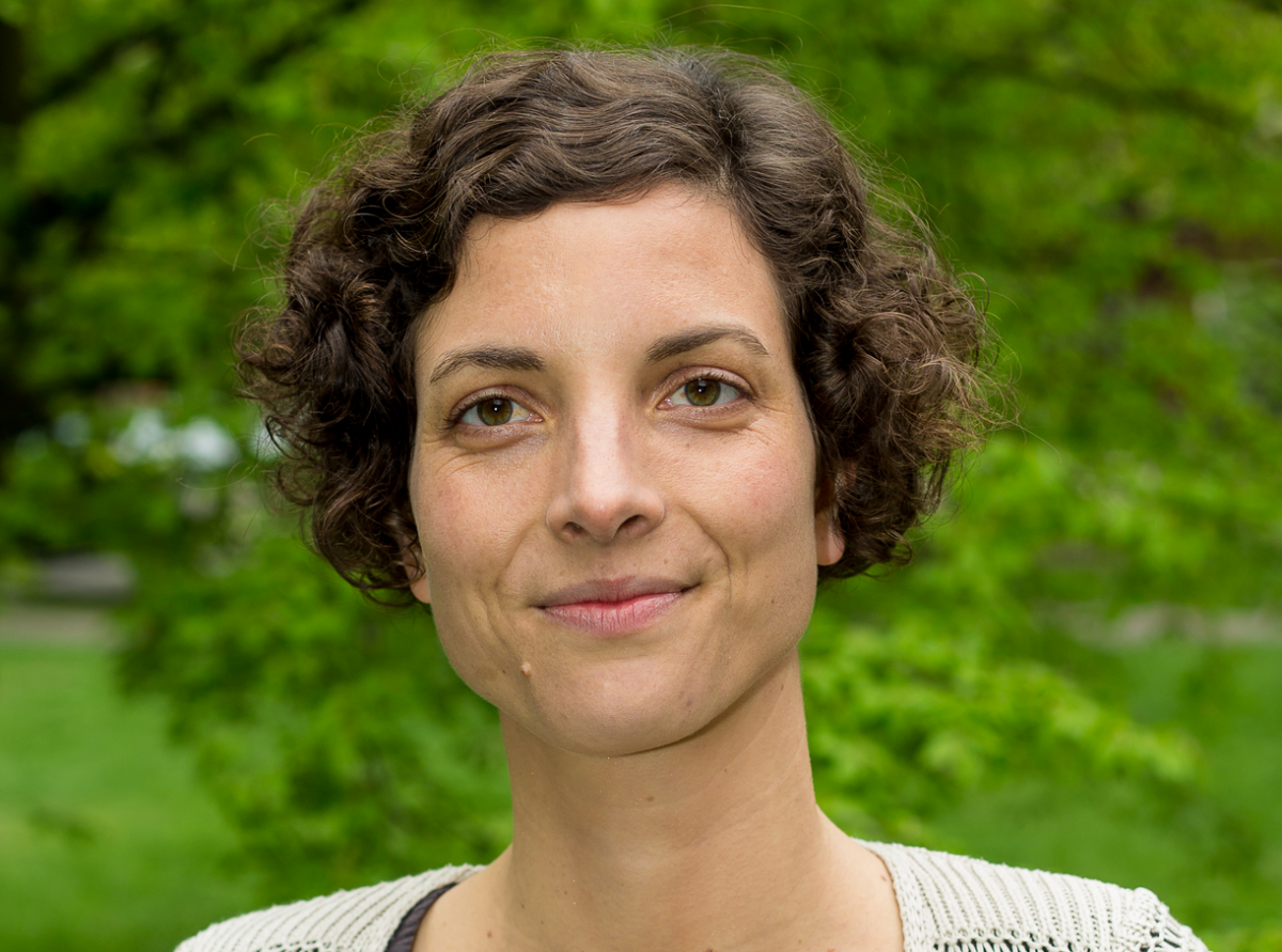 Tina Löffelsend is head of the BUND's international energy and climate policy division. Photo: BUND
