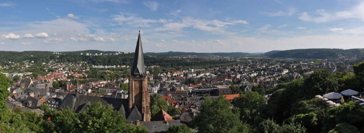 The city of Marburg. Photo: Andreas Trepte