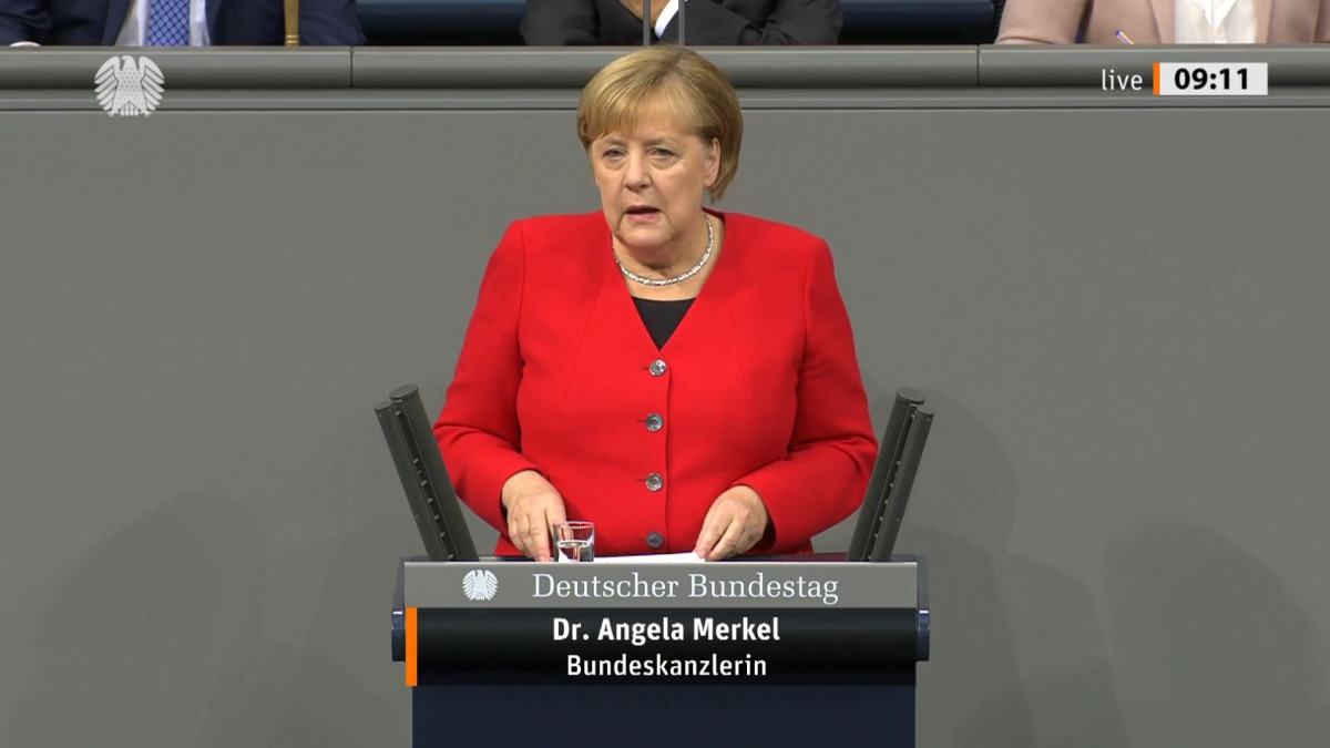 Merkel Criticises Eib Decision To Ban Gas Lending Clean Energy Wire