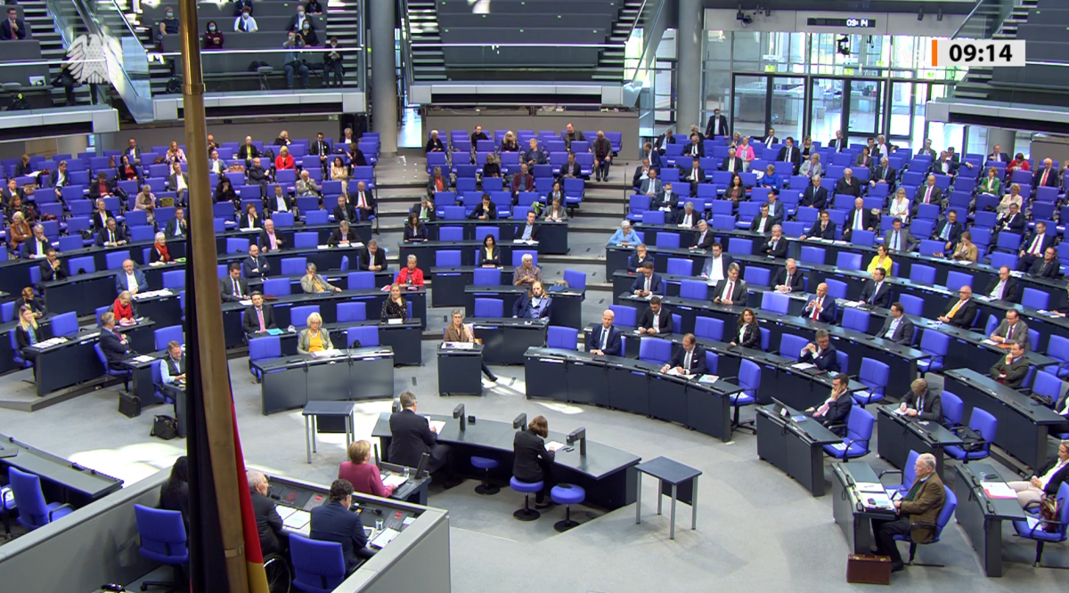 The German parliament has its work on renewable energy legislation cut out for the next months. Photo: Screenshot CLEW.
