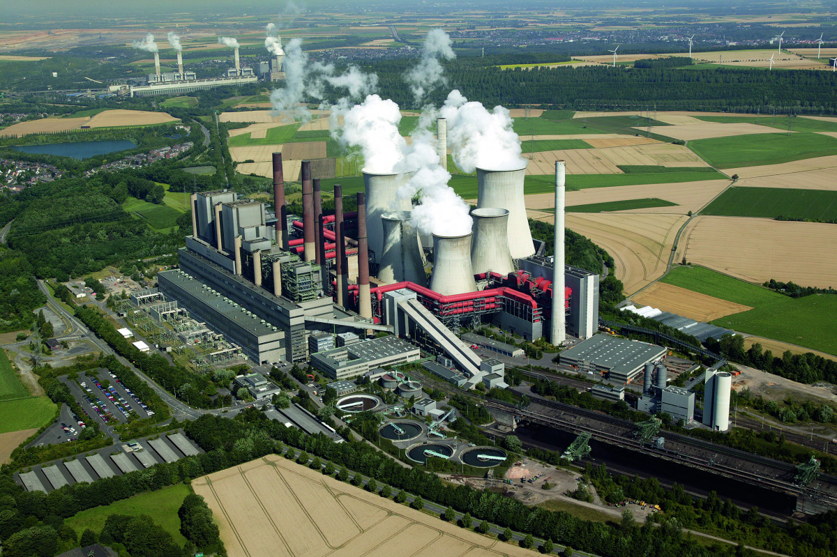 Lignite plant Neurath: Germany's coal power use has dropped substantially in 2019. Photo: RWE