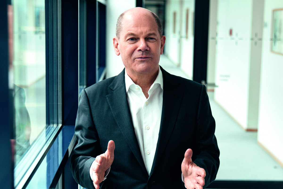 """Election winner Olaf Scholz has said he wants to be a """"climate chancellor."""" Photo: CMYK/SPD"""