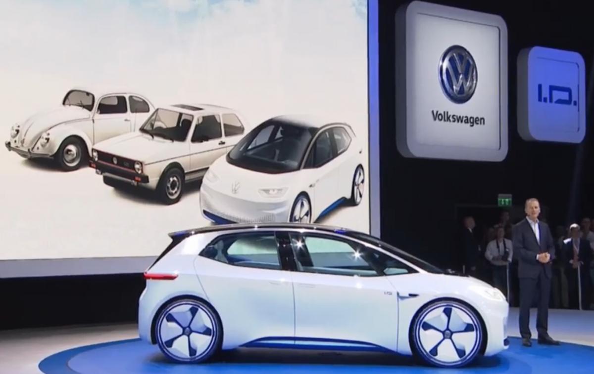 VW Daimler Take Key Step For Emobility At Paris Car Show Clean - Volkswagen car show