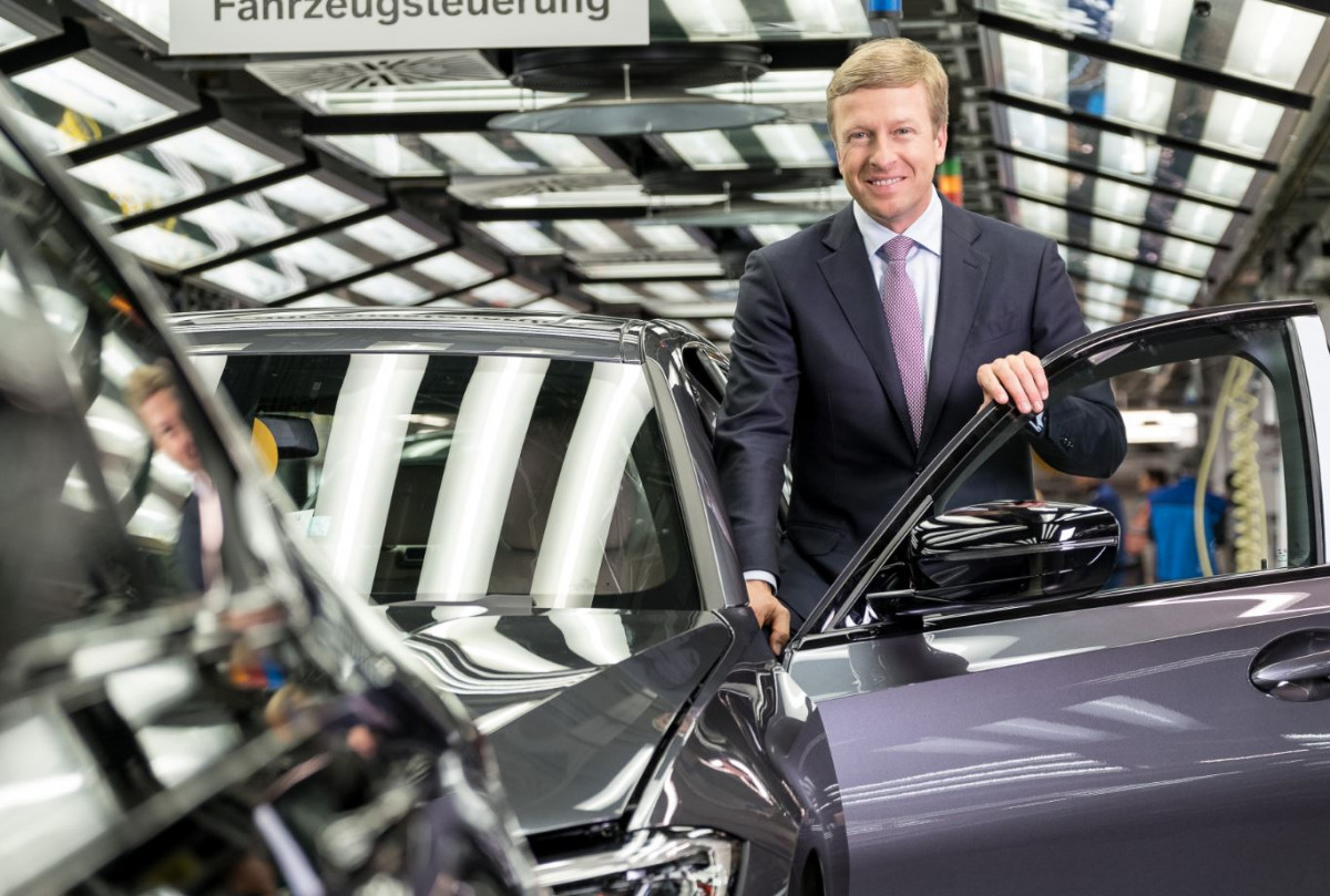 BMW's new CEO Oliver Zipse. Photo BMW