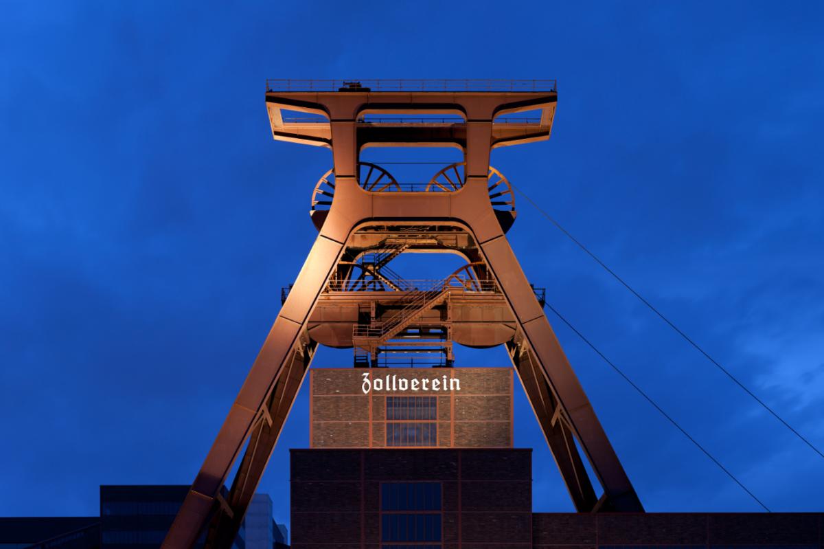The Zeche Zollverein coal mine, a symbol of NRW's heavy industry heyday - Source/ Thomas Wolf, www.foto-tw.de