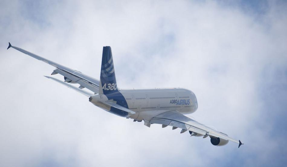 The Airbus A380. Copyright: Airbus / photo by P.Pigeyre