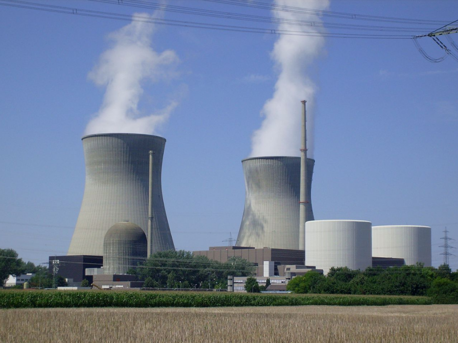 Nuclear plant Gundremmingen in Bavaria. Photo: Felix König