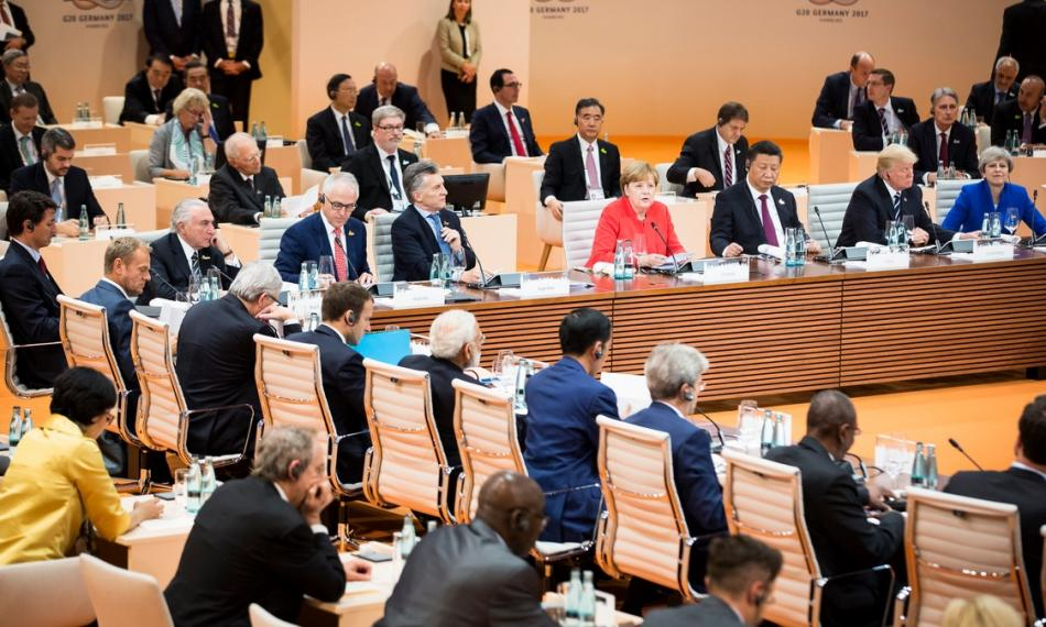 G20 heads of state and government at the Hamburg summit. Source - Bundesregierung/Steins 2017.