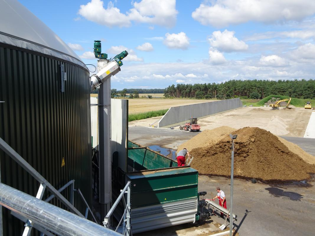 Bioenergy The Troubled Pillar Of Energiewende Clean Energy Wire Large Biogas Plant Diagram Anaerobic Digester Blog Clew