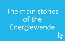 Click here to learn more about the main stories of the Energiewende.