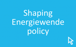 Click here for information on how Energiewende policy is shaped in Germany.