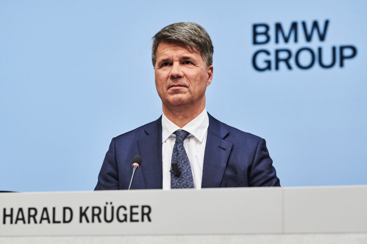 Criticised as indecisive: Zipse's predecessor Harald Krüger. Photo BMW