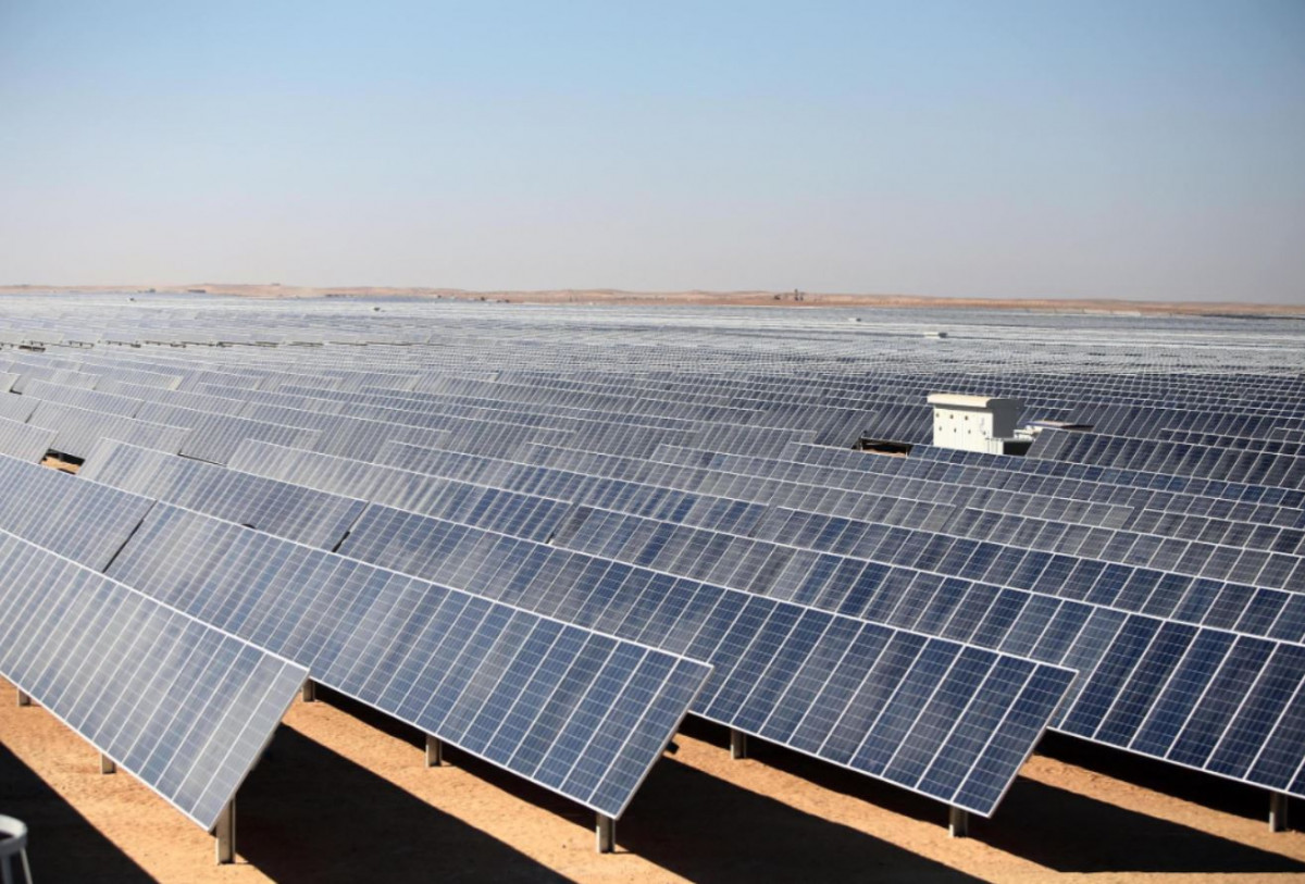 A solar power station in Aswan, Egypt, built by Chinese company TBEA SunOasis (Image: Alamy)