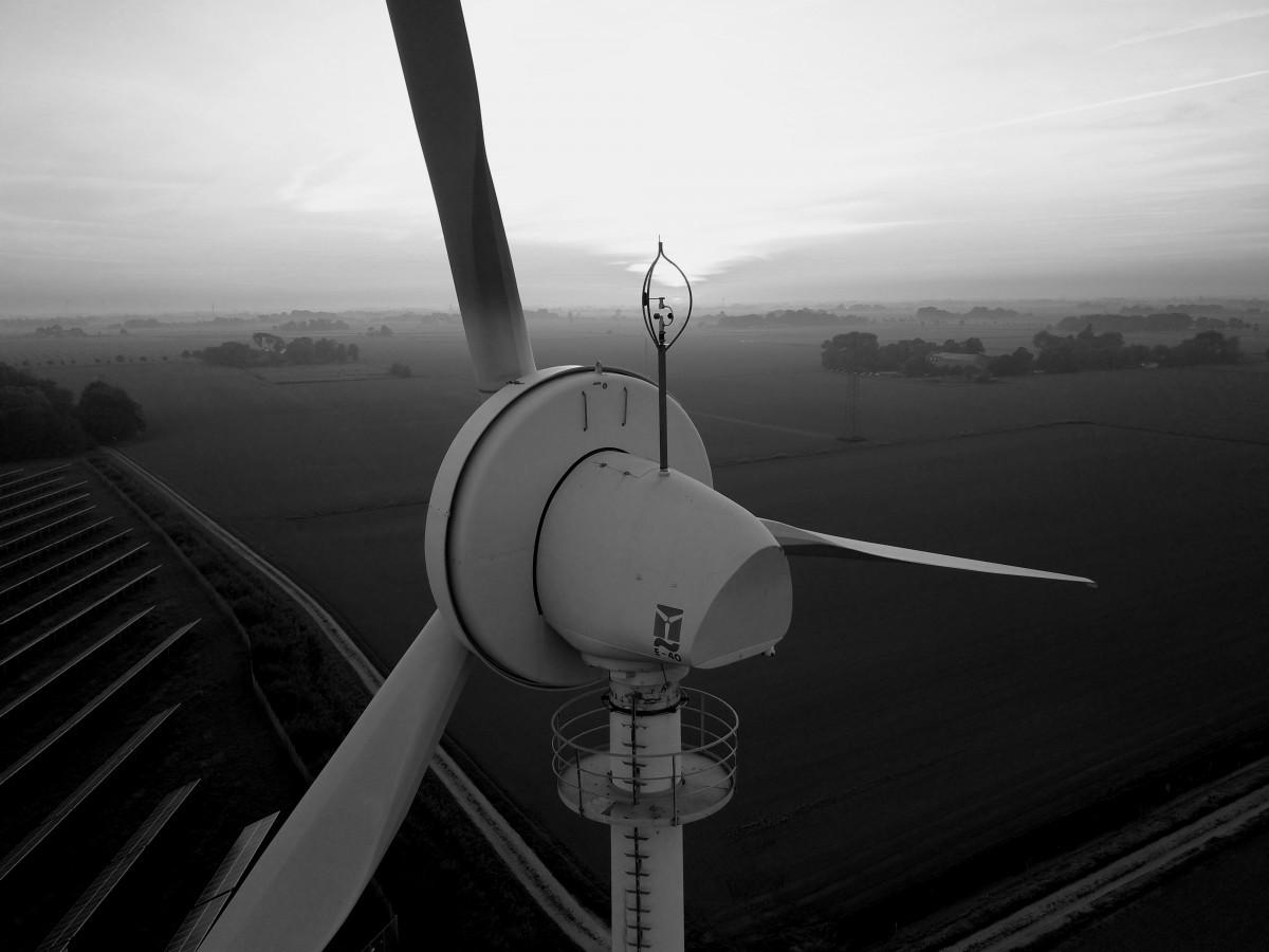 Photo of wind turbine in Germany. Source: Jan Ahmels.