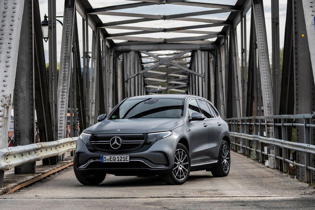 The Mercedes-Benz EQC. Photo: Daimler