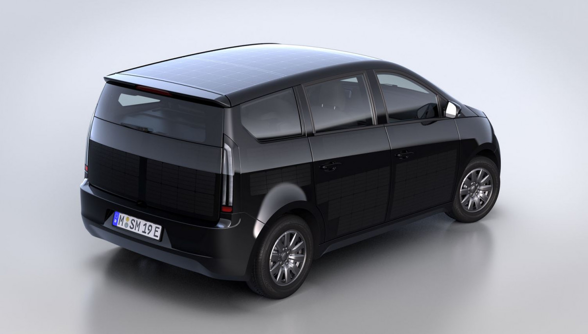 Sono's Sion electric car. Image: Sono Motors